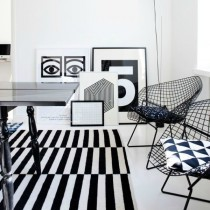 Decoración Black & White